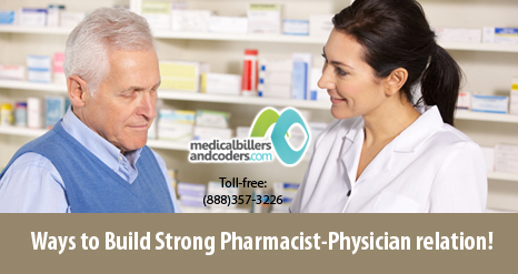 Ways to Build Strong Pharmacist-Physician Relation! | Physician Billing Services | Scoop.it