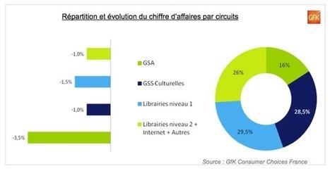 Recul du marché du livre en France de 1,7 %, à 4,13 milliards € | Les livres - actualités et critiques | Scoop.it