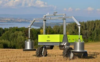 Top Robots for Farmers for 2016 | EE Times | Une nouvelle civilisation de Robots | Scoop.it