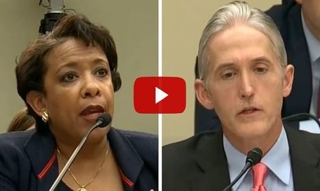 WATCH: Trey Gowdy Just Backed Loretta Lynch Into A Corner With 1 Perfect Question She'll Hate | EconomicFactors | Scoop.it