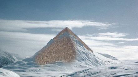 Antarctique: Les glaciers fondent, les pyramides apparaissent | Détective de l'étrange | Scoop.it