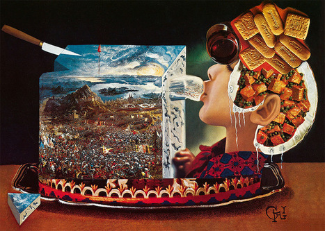 #Salvador #Dalí's #Eccentric #Cookbook Is Being Reissued for the First Time in Over 40 Years #sureal | Luby Art | Scoop.it