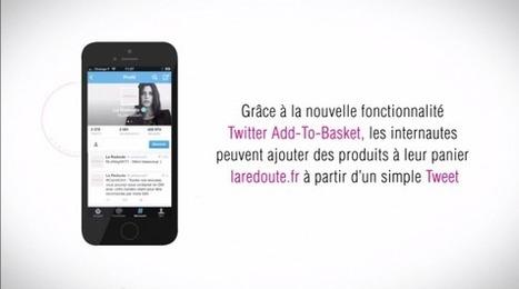 La Redoute : ajouter un article au panier via un Tweet | Best of des Médias Sociaux | Scoop.it