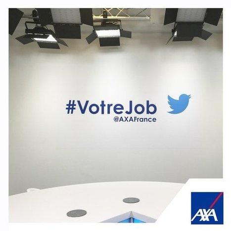 Retour d'expérience : l'utilisation de Twitter par AXA pour sa marque employeur - Blog du Modérateur | Actualités pour les documentalistes très high tech | Scoop.it