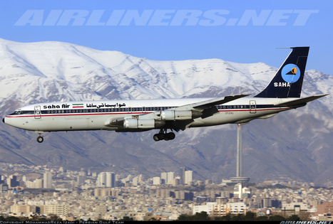 Photos: Boeing 707-3J9C still flying | Airlines and Airports | Scoop.it