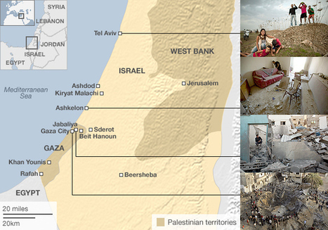 Israel-Gaza violence in maps | Psycholitics & Psychonomics | Scoop.it