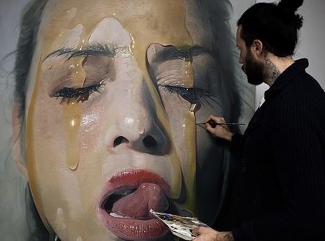"Sensual paintings in the style of ""hyperrealism"" | daily acid | Scoop.it"