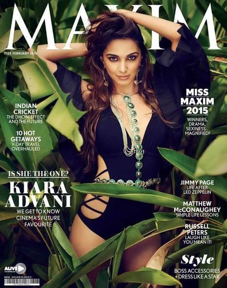 Kiara Advani on Maxim India Swimsuit Photoshoot for Feb 2015 | Bollywood News,Gossips,Photoshoots,Movie Reviews | Scoop.it