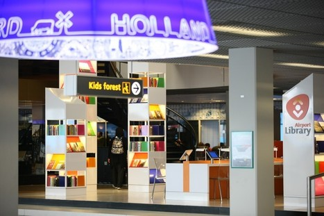 Exploring Dutch culture at the Airport Library | Library as Incubator Project | Digital information and public libraries | Scoop.it