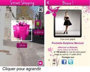 Le mobile dopé à la Réalité Augmentée chez La Redoute | Actu de la Réalité Augmentée et de l'impression 3D | Scoop.it