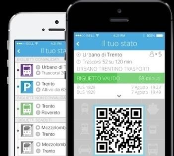 A Trento il biglietto dell'autobus si paga con lo smartphone tramite un codice QR | QRCODE_ITALY | Scoop.it