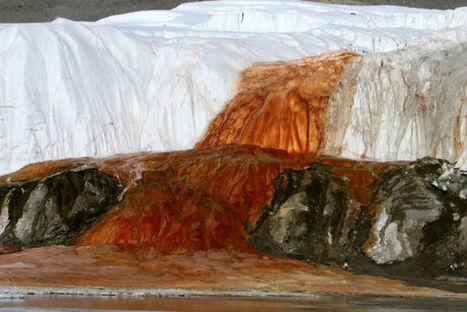 Why does this waterfall in Antarctica run blood-red? | Aquascaping and Nature | Scoop.it