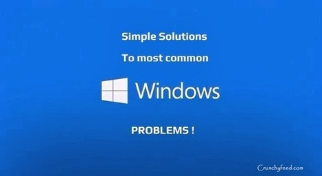 Solutions for most common Windows problems | CrunchyFeed | How to Guide | Scoop.it