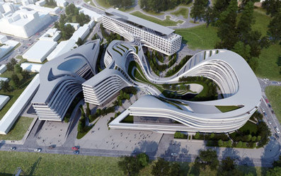 Revitalization, Public Space + Modernism: Beko Masterplan by Zaha Hadid Architects | green streets | Scoop.it