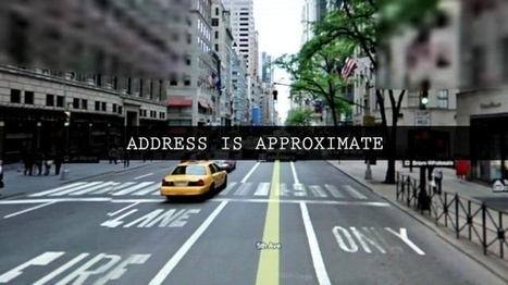 Short Film + Videos - Address Is Approximate by The Theory. | VIM | Scoop.it