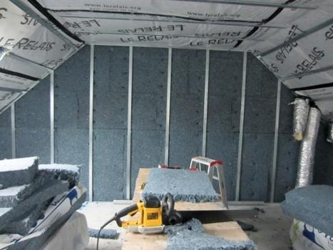 Une maison entièrement isolée à partir de jeans recyclés | Des idées, des outils pour un batiment durable | Scoop.it