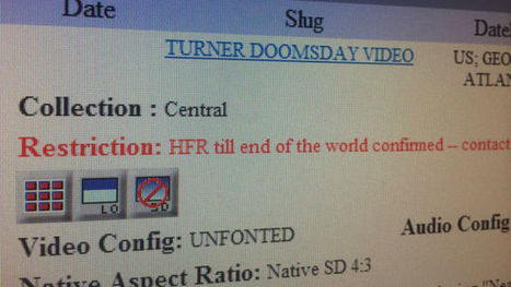 This Is The Video CNN Will Play When The World Ends | Entrepreneurs du Web | Scoop.it