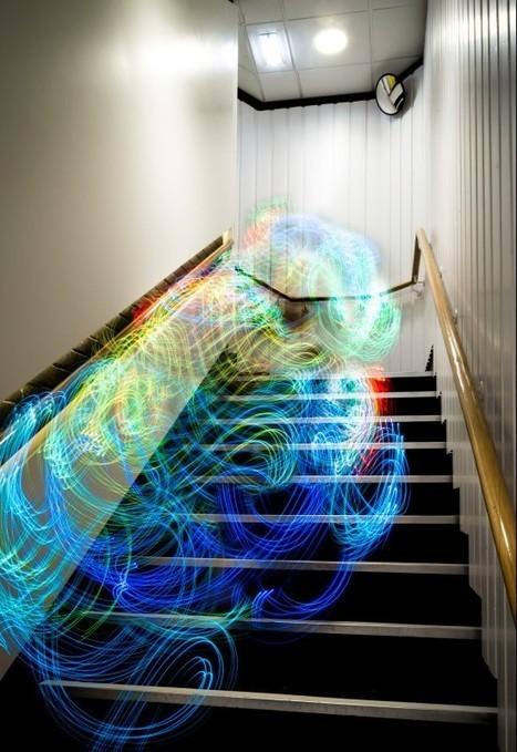 Une visualisation des ondes WiFi | arts premiers | Scoop.it