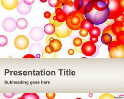 Free Bubbles PowerPoint Template | Free Powerpoint Templates | Didactica | Scoop.it