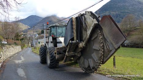 Enterrement des lignes électriques entre Garian et Barrancoueu   Vallée d'Aure - Pyrénées   Scoop.it