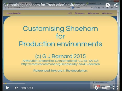 Shoehorn for Moodle 2.9 released | Learning & Mind & Brain | Scoop.it