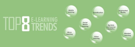 Top 8 eLearning Trends Infographic - e-Learning Infographics | Learning Bytes from The Consultants-E | Scoop.it