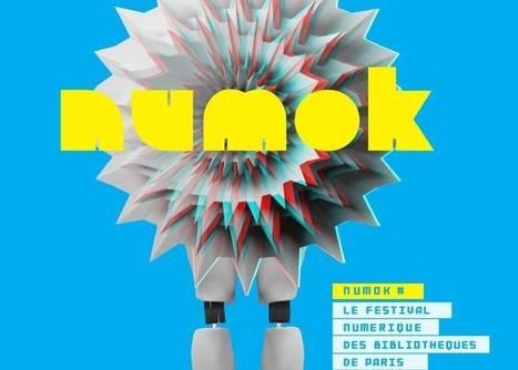 Numok : les bibliothèques de Paris lancent leur festival numérique ! | Archimag | Clic France | Scoop.it