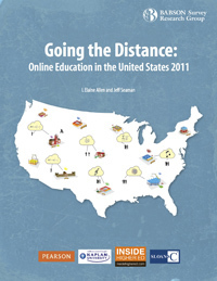 Going the Distance: Online Education in the United States, 2011 | The Sloan Consortium | Infographic | E-Learning and Online Teaching | Scoop.it