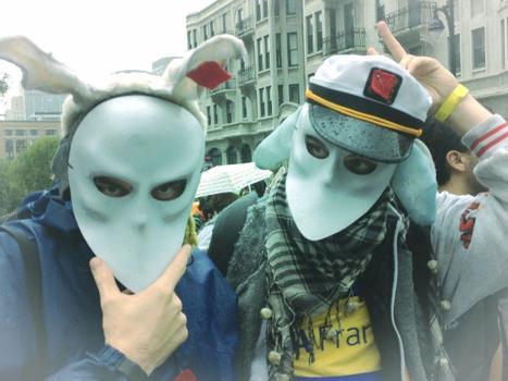Manifestation en appui pour GND   Quartier Libre   Une présence au milieu des mouvements sociaux   Scoop.it