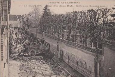 Il y a 105 ans, les ouvriers vignerons champenois se révoltaient | Le vin quotidien | Scoop.it
