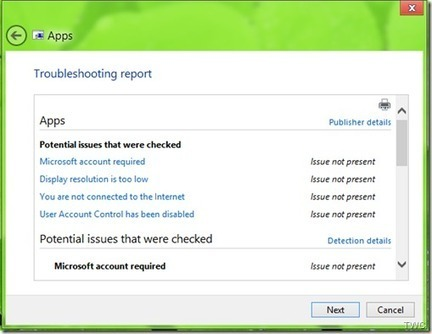 Troubleshoot and Fix Apps problems with Windows 8 Apps Troubleshooter | Windows Infrastructure | Scoop.it
