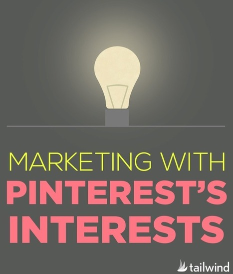 Marketing with Pinterest's Interests | Pinterest | Scoop.it