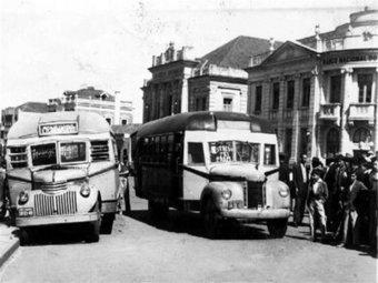OS TRIPULANTES DO MEU AFETO: ÔNIBUS DE SANTA MARIA,RS - 1940   Década de 1940 - História   Scoop.it