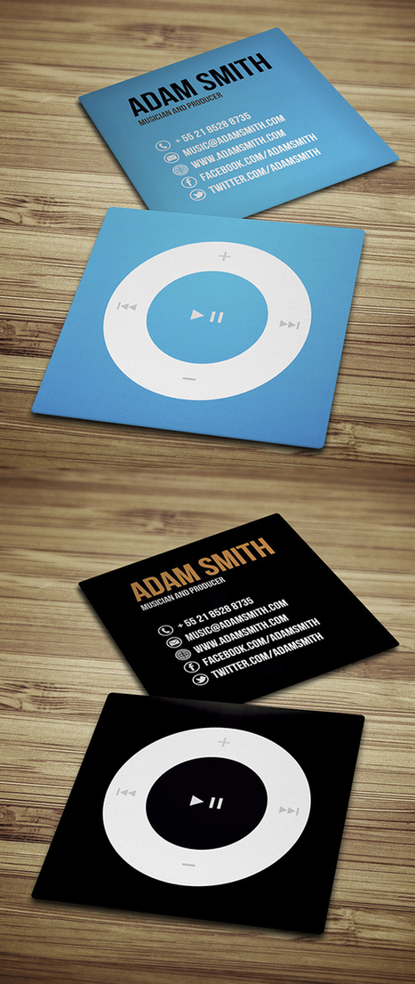 40 Mini Square Business Cards Design   The Most Comprehensive Business Card Design Guide   Scoop.it