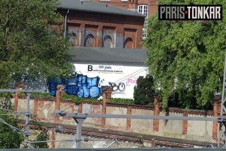 Lübeck graffiti | Paris Tonkar magazine | Scoop.it