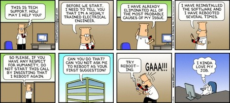 Tech Support - Dilbert | fun for geeks | Scoop.it