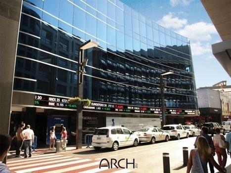 Andorre : Arch déploie un écran LED de plus de 27 mètres en façade d'une banque | Arch.eu | Scoop.it