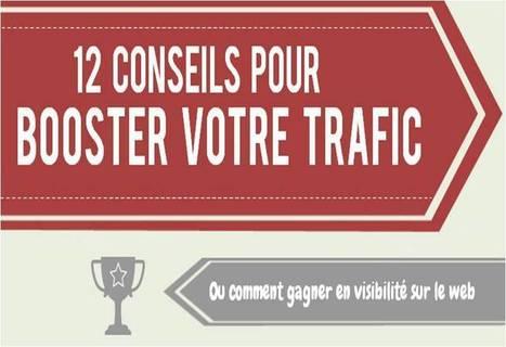 Infographie : 12 conseils pour booster le trafic de votre site web | Marketing pour les PME | Scoop.it