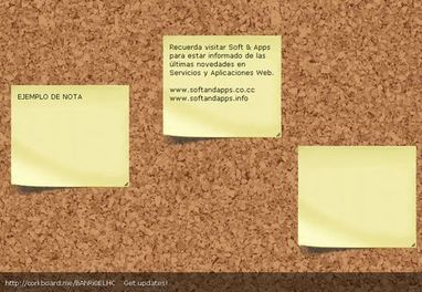Corkboard, Tablon virtual para compartir notas tipo post-it en internet - - Soft & Apps | Al calor del Caribe | Scoop.it