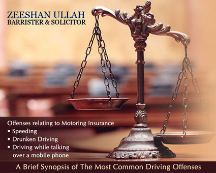 A Brief Synopsis of The Most Common Driving Offenses » | Legal Issues Canada | Scoop.it