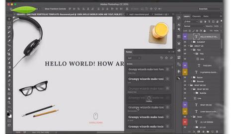 Fontea, un plugin con 800 fuentes de Google Fonts para instalar en Photoshop | Con visión pedagógica: Recursos para el profesorado. | Scoop.it