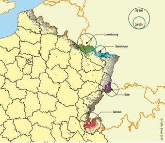 Insee - Travail-Emploi - Résider en France et travailler à l'étranger - Une situation en plein essor | Suisse | Scoop.it