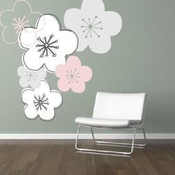 {DIY} Tutorial et gabarit Fleur de Cerisier à télécharger !   Stickerzlab, des astuces et des idées déco pour tous   décoration & déco   Scoop.it