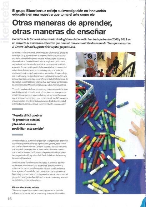 ELKARRIKERTUZ-2012 | Hezkuntza artistikoa eta bisuala ikertzen | Scoop.it