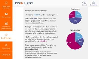 ING lance un « Coach Épargne » mobile | Veille Techno et Banques | Scoop.it