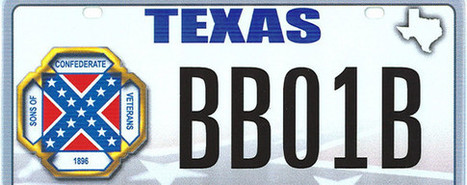 Fight over Texas License Plate With Confederate Flag Heads to High Court | Civil Liberty Readings | Scoop.it