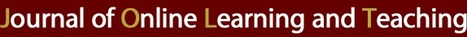 JOLT - Journal of Online Learning and Teaching | The 21st Century | Scoop.it