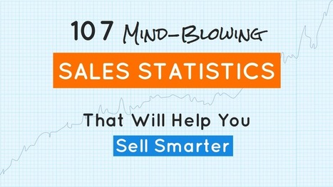 You are in #sales? You like stats? This is for you: 107 Sales Stats to Sell Smarter | Digital Transformation of Businesses | Scoop.it