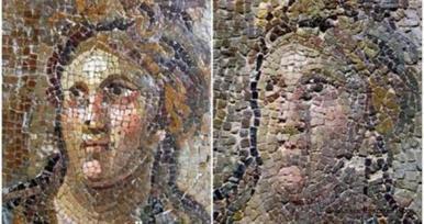 Turquía hace un 'Ecce Homo' con un mosaico romano | Mundo Clásico | Scoop.it