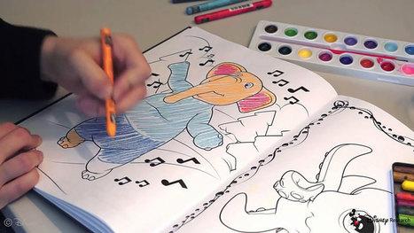 Cette application développée par Disney donne vie à vos coloriages en les transposant directement en 3 dimensions | SooCurious | 694028 | Scoop.it